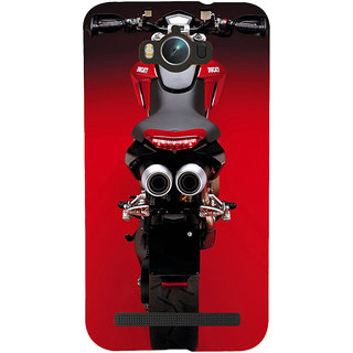 Snapdilla Red Heavenly Luxury Ride Motorcycle Biker Ride Cell Cover For Asus Zenfone Max ZC550KL :: Asus Zenfone Max ZC550KL 2016 :: Asus Zenfone Max ZC550KL 6A076IN