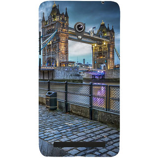 Snapdilla Awesome London Bridge Love Hollywood Hd Print Unique Back Cover For Asus Zenfone 6 A600CG