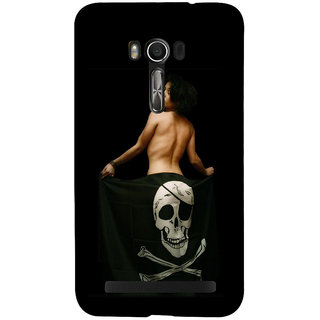 Snapdilla Sexy Hot Nude Girl Bare Back Funky Crazy Macho Smartphone Case For Asus Zenfone Go ZC500TG