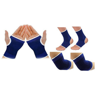 Gold Dust Sport Stretch Band Palm Elbow & Ankle Support