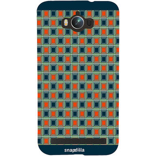 Snapdilla Modern Checkered Pattern Stylish Cool Looking Awesome Cell Cover For Asus Zenfone Max ZC550KL :: Asus Zenfone Max ZC550KL 2016 :: Asus Zenfone Max ZC550KL 6A076IN