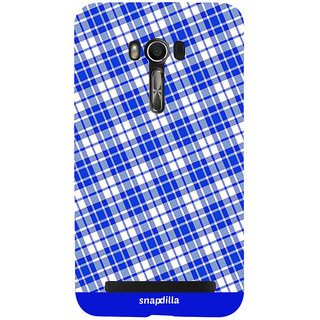 Snapdilla Checkered Cool Looking Stripes Pattern Simple Crazy Different 3D Print Cover For Asus Zenfone Go ZC500TG