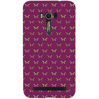 Snapdilla Colorful Pretty Looking Butterfly Pretty Artistic Cool Stunning Back Cover For Asus Zenfone Go ZC500TG