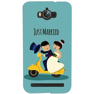 Snapdilla Newly Married Honeymoon First Gift Just Married Quote Wedding Mobile Pouch For Asus Zenfone Max ZC550KL :: Asus Zenfone Max ZC550KL 2016 :: Asus Zenfone Max ZC550KL 6A076IN