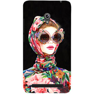 Snapdilla Artistic Gorgeous Trendy Fashion Girl Classic Painting Smartphone Case For Asus Zenfone 6 A600CG