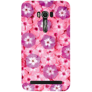 Snapdilla Modern Art Floral Pink Floral Background Pretty Flowers Mobile Pouch For Asus Zenfone Go ZC500TG