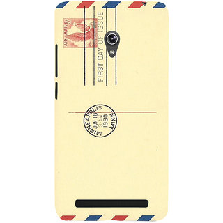 Snapdilla Artistic Usa Hollywood Different Cute Awesome Post Card Back Cover For Asus Zenfone 6 A600CG