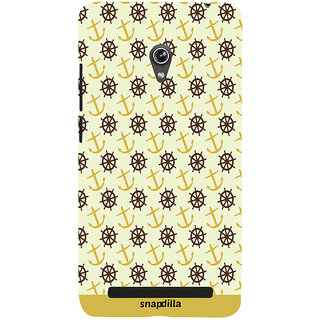 Snapdilla Artistic Modern Art Wheel Pattern Trending Cute Looking Simple Latest Mobile Cover For Asus Zenfone 6 A600CG