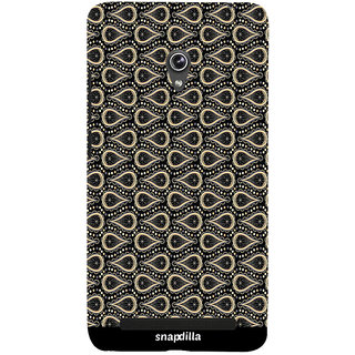 Snapdilla Awesome Stylish Simple Looking Water Drop Pattern Stunning Trendy 3D Print Cover For Asus Zenfone 6 A600CG