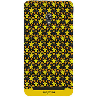 Snapdilla Cool Looking Beautiful Trending Star Pattern Simple Modern Mobile Cover For Asus Zenfone 6 A600CG