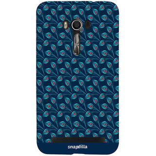 Snapdilla Cool Looking Peacock Feather Pattern CreativeTraditional Stunning Trendy Cell Cover For Asus Zenfone Go ZC500TG