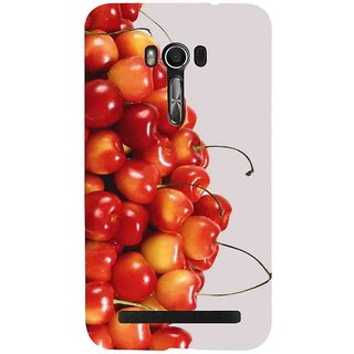 Snapdilla Awesome Looking Beautiful Cherry Fruit Trendy Pleasant Back Cover For Asus Zenfone Go ZC500TG