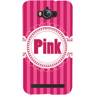 Snapdilla Lovely Pink Background Stripes Pattern Cute Designer Case For Asus Zenfone Max ZC550KL :: Asus Zenfone Max ZC550KL 2016 :: Asus Zenfone Max ZC550KL 6A076IN