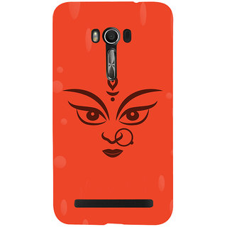 Snapdilla Hindu Religious Red Color Background Lord Durga Maa Kaali Cell Cover For Asus Zenfone Go ZC500TG