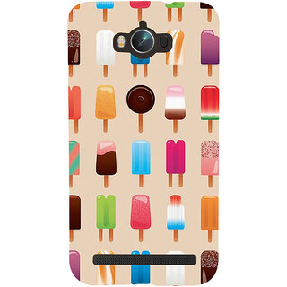 Snapdilla Different Colorful Light Background Ice-Cream Lovers Back Cover For Asus Zenfone Max ZC550KL :: Asus Zenfone Max ZC550KL 2016 :: Asus Zenfone Max ZC550KL 6A076IN