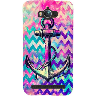 Snapdilla Multi Colored Modern Art Colorful Pattern Artistic Anchor 3D Print Cover For Asus Zenfone Max ZC550KL :: Asus Zenfone Max ZC550KL 2016 :: Asus Zenfone Max ZC550KL 6A076IN