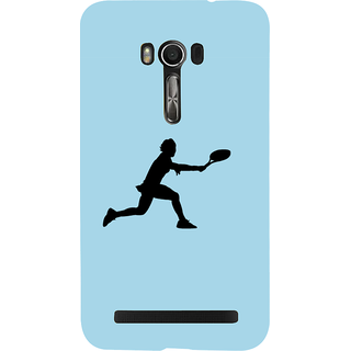 Snapdilla Blue Background Tennis Sports Lover Unique Mobile Cover For Asus Zenfone Go ZC500TG
