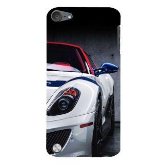 Snapdilla Distinctive Black Texture Unique Sports Car Hd Photo Cell Cover For Apple IPod Touch 5