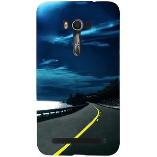 Snapdilla Heavenly Blue Sky Beach Side Ride Scenic Beautiful Phone Case For Asus Zenfone Go ZC500TG