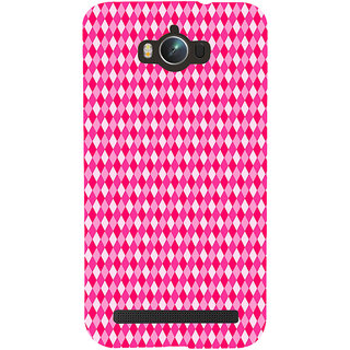Snapdilla Pink Background Diamond Sequence Ideal Decent Girly Back Cover For Asus Zenfone Max ZC550KL :: Asus Zenfone Max ZC550KL 2016 :: Asus Zenfone Max ZC550KL 6A076IN
