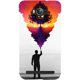 Snapdilla Black And White Background Colorful Animated Monochrome Mobile Pouch For Asus Zenfone Max ZC550KL :: Asus Zenfone Max ZC550KL 2016 :: Asus Zenfone Max ZC550KL 6A076IN