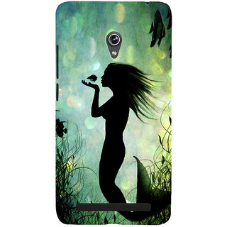 Snapdilla Graphic Design Artistic Little Mermaid Superb Painting Best Cell Cover For Asus Zenfone 6 A600CG