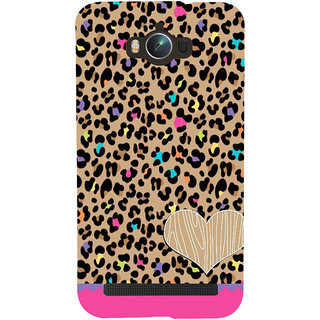 Snapdilla Different Leather Background Pretty Pink Cheetah Print Pattern 3D Print Cover For Asus Zenfone Max ZC550KL :: Asus Zenfone Max ZC550KL 2016 :: Asus Zenfone Max ZC550KL 6A076IN