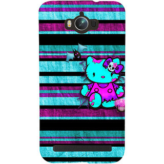 Snapdilla Colorful Stripes Pattern Cool Simple Hello Kitty Cartoon Mobile Case For Asus Zenfone Max ZC550KL :: Asus Zenfone Max ZC550KL 2016 :: Asus Zenfone Max ZC550KL 6A076IN