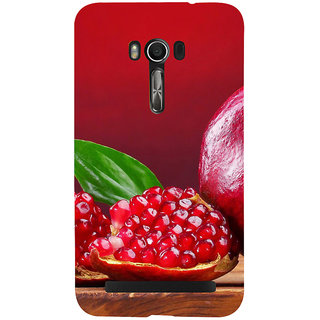 Snapdilla Bright Red Unique Design Pomegranate Awesome Cell Cover For Asus Zenfone Go ZC500TG