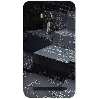 Snapdilla School Mathematics Theme Top Student Black Color Smartphone Case For Asus Zenfone Go ZC500TG