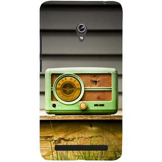 Snapdilla Unique Different Pattern Vintage Old Radio Cute Mobile Cover For Asus Zenfone 6 A600CG