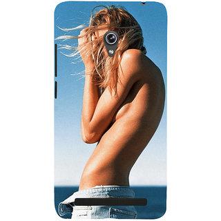 Snapdilla Super Stylish Sexy Hot Lady Summer Beach Sun Tan Modern Girl Smartphone Case For Asus Zenfone 6 A600CG