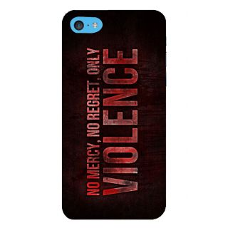 Snapdilla No Mercy No Regret Only Violence Fight Club Quote Action Movie Mobile Case For Apple IPod Touch 6