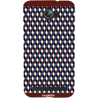Snapdilla Artistic Beautiful Diamond Pattern Stylish Looking Sober Simple Phone Case For Asus Zenfone Max ZC550KL :: Asus Zenfone Max ZC550KL 2016 :: Asus Zenfone Max ZC550KL 6A076IN