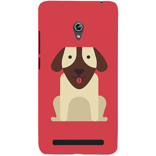 Snapdilla Artistic Clipart Cute Puppy Animated Cool Dog Smartphone Case For Asus Zenfone 5