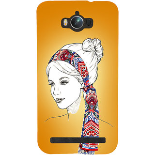 Snapdilla Unique Classic Girl Model Trendy Rare Painting Mobile Case For Asus Zenfone Max ZC550KL :: Asus Zenfone Max ZC550KL 2016 :: Asus Zenfone Max ZC550KL 6A076IN