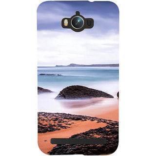 Snapdilla Colorful Beautiful Beach Scenery Blue Sky Nature Lovers Mobile Cover For Asus Zenfone Max ZC550KL :: Asus Zenfone Max ZC550KL 2016 :: Asus Zenfone Max ZC550KL 6A076IN