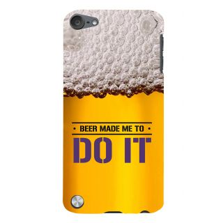 Snapdilla Awesome Beer Quote Night Club Party Bachelor Pub Life Cell Cover For Apple IPod Touch 5