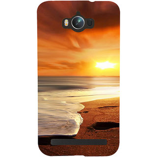 Snapdilla Colorful Beach Side Beautiful Sunset Scenery Hd Print Back Cover For Asus Zenfone Max ZC550KL :: Asus Zenfone Max ZC550KL 2016 :: Asus Zenfone Max ZC550KL 6A076IN