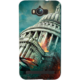 Snapdilla Amazing Architecture Fallen Excellent Hollywood Hd Print Mobile Cover For Asus Zenfone Max ZC550KL :: Asus Zenfone Max ZC550KL 2016 :: Asus Zenfone Max ZC550KL 6A076IN