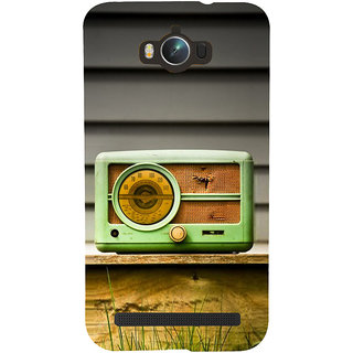 Snapdilla Unique Different Pattern Vintage Old Radio Cute Mobile Cover For Asus Zenfone Max ZC550KL :: Asus Zenfone Max ZC550KL 2016 :: Asus Zenfone Max ZC550KL 6A076IN