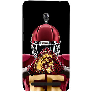 Snapdilla Black Background Cool Different Base Ball Sports Lover Mobile Case For Asus Zenfone 6 A600CG