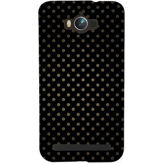 Snapdilla Black Background Artistic Tiny Floral Pattern Unique Phone Case For Asus Zenfone Max ZC550KL :: Asus Zenfone Max ZC550KL 2016 :: Asus Zenfone Max ZC550KL 6A076IN