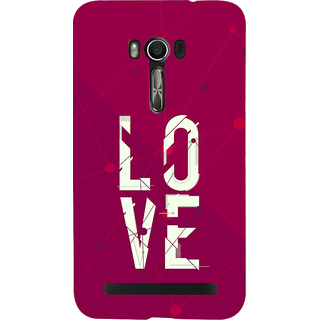 Snapdilla Pink Background Lovers Valentine I Love You Girlfriend Gift Cell Cover For Asus Zenfone Go ZC500TG