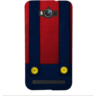 Snapdilla Simple Funky Red  Blue Color Different Pattern Buttons Branded Designer Case For Asus Zenfone Max ZC550KL :: Asus Zenfone Max ZC550KL 2016 :: Asus Zenfone Max ZC550KL 6A076IN