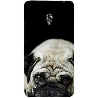 Snapdilla Classic Black Background Cute Hutch Puppy Dog Unique Creative Mobile Pouch For Asus Zenfone 6 A600CG