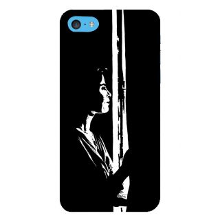 Snapdilla Black And White Modern Art Classic Abstract Painting Simple Mobile Cover For Apple IPod Touch 6
