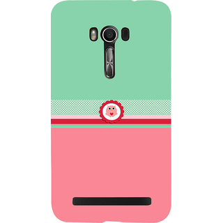 Snapdilla Green  Pink Color Background Adorable Cute Little Owl Mobile Cover For Asus Zenfone Go ZC500TG