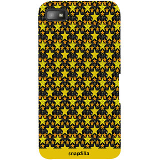 Snapdilla Cool Looking Beautiful Trending Star Pattern Simple Modern Mobile Cover For BlackBerry Z10
