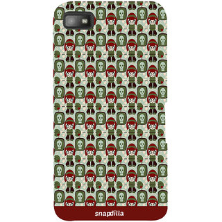 Snapdilla Colorful Crazy Cool Looking Clipart Pattern Awesome Stylish Smartphone Case For BlackBerry Z10